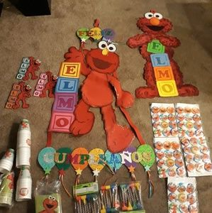 Other - Elmo decoracion para fiesta